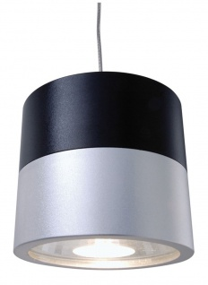 Deko Light Cana Pendelleuchte silber / schwarz 1 flg. G4 300lm 2900K Modern