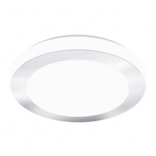 EGLO CARPI LED Deckenleuchte DM385, 1-flg., weiss, chrom