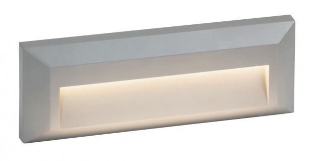 Rabalux Pueblo Außen LED Wandaufbauleuchte IP65 grau