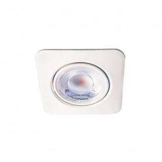 Bioledex DEKTO LED Einbauspot 8W 38° neutralweiss schwenkbar eckig