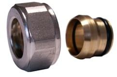 Schlösser Klemmringverschraubung schwarz graphit 3/4 x 15mm für Kupferrohr 6025 00001.S0063
