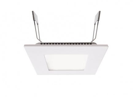 Deko Light LED Panel Square 8 Einbaustrahler weiß 560lm 4000K >80 Ra 110° Modern