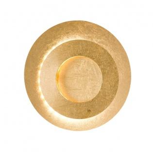 Wofi LED Wandleuchte LAUREN goldfarbig