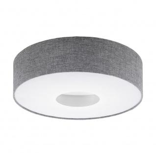 EGLO ROMAO LED Deckenleuchte Ø500, 1-flg., weiss, grau
