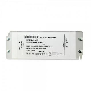 Bioledex® Trafo für LED Technik - 12V 100W DC
