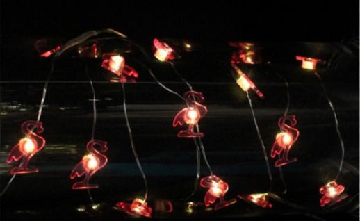 Lichterkette 2 Motive 20 LEDs für Innen 2x AA Batterie nicht inkl.