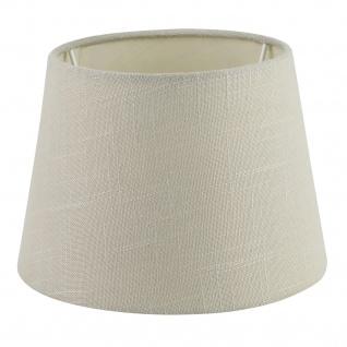 EGLO 1+1 VINTAGE Textil Schirm E27, E14 beige/grau 205mm