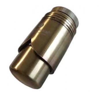 Schlösser Thermostatkopf Brilliant M30 x 1, 5 Heimeier Messing Antik 6002 00013