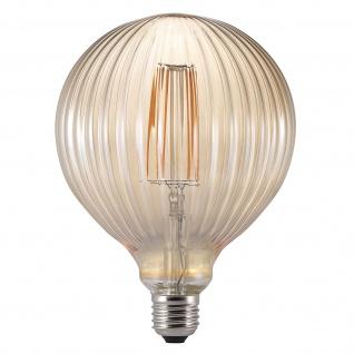Nordlux Avra Bulb E27 Deko LED Leuchtmittel 130lm 2W 2200K braun Filament
