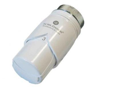 Schlösser Thermostatkopf Diamant Plus M28 x 1, 5 Comap weiß/weiß 6001 00018
