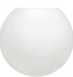 Lampenschirm Kugel für Außen weiß PR Home Moon 25cm für E27 Pendelaufhang