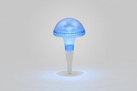 KONSTSMIDE Assisi Pilz Solar LED Leuchte blau