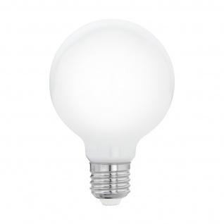 EGLO E27 G80 LED Leuchtmittel 8W 1055lm 2700K opal Filament Globe