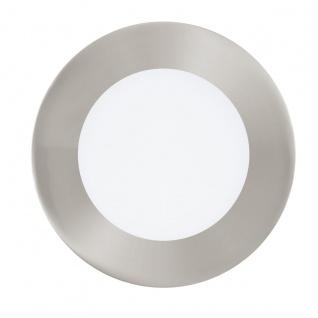 EGLO Connect FUEVA-C LED RGB Einbaulampe 120mm rund nickel-matt App Steuerbar