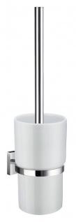 Smedbo House WC-Bürste mit Porzellan Behälter chrom RK333P