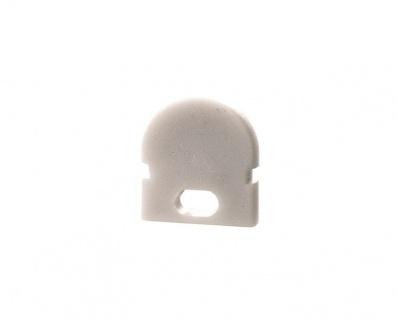 Deko Light Endkappe R-AU-01-05 Set 2 Stk für Profil weiß