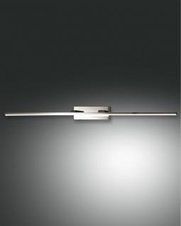 LED Spiegelleuchte chrom Fabas Luce Nala 750mm 1350lm 3000K