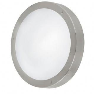 EGLO VENTO 1 LED Außen Wandleuchte, IP44, edelstahl, 94121