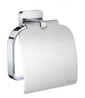Smedbo Ice Toilettenpapierhalter mit Deckel OK3414