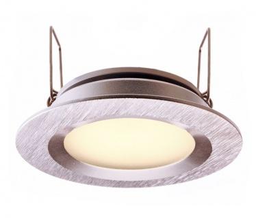 Deko Light Einbaustrahler LED silber IP44 110lm 3000K >80 Ra 110° Modern