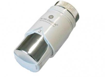 Schlösser Thermostatkopf Diamant Plus M28 x 1, 5 Herz weiß/chrome 6001 00012