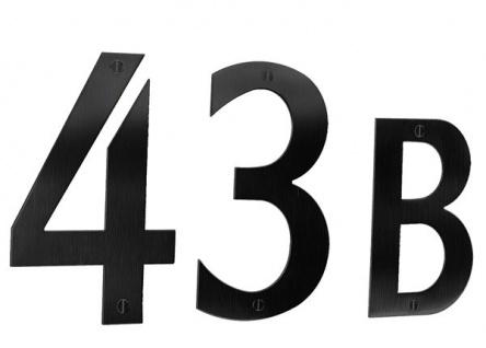 Smedbo Hausnummer 1 Edelstahl Schwarz Artikel Nr. BB941