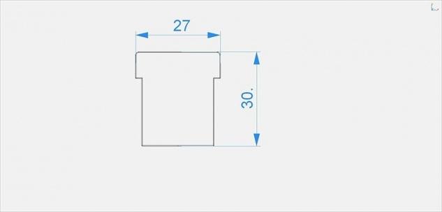 Deko Light Endkappe I-EU-01-12 Set 2 Stk für Profil grau