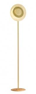 Wofi Led Stehlampe LAUREN goldfarbig