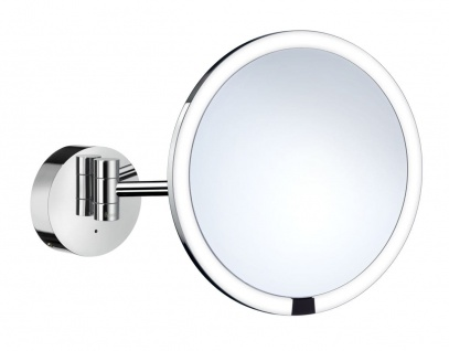 Smedbo Outline Kosmetikspiegel berührungslos mit LED-Beleuchtung PMMA rund FK487H