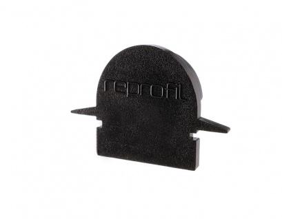 Deko Light Endkappe R-ET-01-08 Set 2 Stk für Profil schwarz