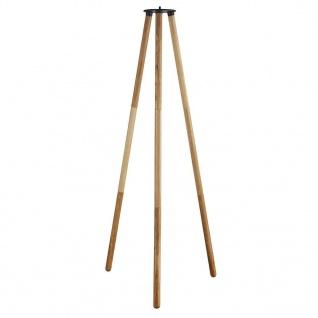Nordlux Kettle tripod 100 Holz braun 102, 9cm mit Gewinde für Kettle 22 und 36