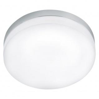 EGLO LORA LED Deckenleuchte DM320, 1-flg., chrom, weiss