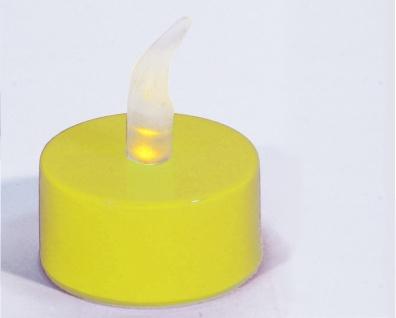 LED Teelicht aus Kunststoff Batteriebetrieben