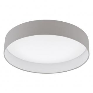 EGLO PALOMARO LED Deckenleuchte, rund, 500mm, weiss, taupe