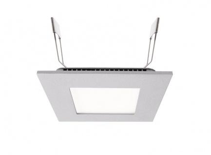 Deko Light LED Panel 8 Einbaustrahler silber 560lm 4000K >80 Ra 110° Modern