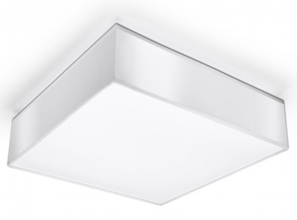 Sollux HORUS moderne Deckenlampe eckig weiss 2-flg. E27