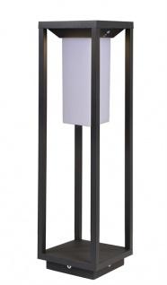 Deko Light Samas LED Solar Laterne 500mm, dunkelgrau