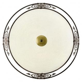 EGLO MESTRE Wand & Deckenleuchte, 475mm, E27 antik-braun, gold