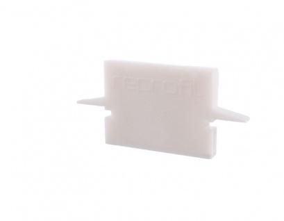 Deko Light Endkappe H-ET-01-10 Set 2 Stk für Profil weiß