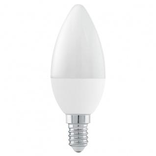 EGLO E14 LED Leuchtmittel 6W 470lm 3000K C37 Kerze Stepdimmer