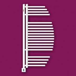 MERT Elektro Design Badheizkörper Aycan 500 x 1000 mm incl. Regler und Heizpatrone