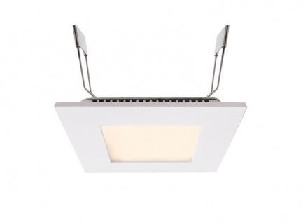 Deko Light LED Panel Square 8 Einbaustrahler weiß 570lm 2700K >80 Ra 110° Modern