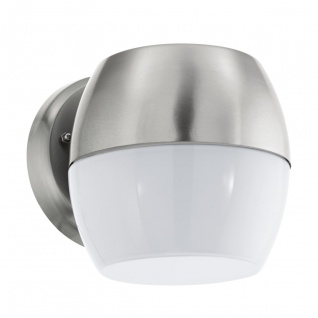 EGLO LED ONCALA Außen Wandleuchte, IP44 edelstahl