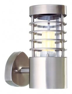 Deko Light Estada II Wandleuchte außen silber IP44 1 flg. E27 Modern