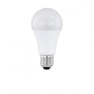 EGLO LED Leuchtmittel E27 A60 10W 806lm 2700K 180° opal Bewegungsmelder 60x116mm