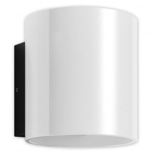 LED Außenwandleuchte anthrazit Opal Glas Näve 14x17, 5x15cm IP54 420lm