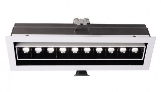 Deko Light Ceti 10 Adjust Einbaustrahler LED weiß-matt, schwarz 1545lm 2900K >90 Ra 45° Modern