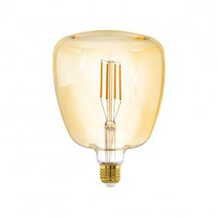 EGLO LED Leuchtmittel E27 T140 4W 400lm 2200K 340° amber dimmbar 140x200mm