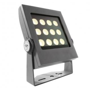 Deko Light Power Spot IX WW Außenstrahler LED anthrazit IP65 1440lm 3000K >80 Ra 25° Modern