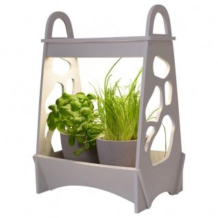 LED Pflanzenbeleuchtung weiß Näve Mini Garten Garden 32x16x34cm Innen